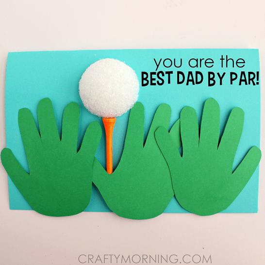 Golf handprint