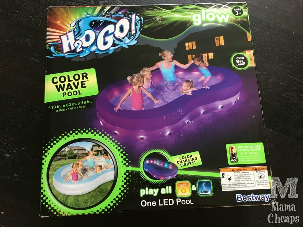 H2OGo Color Wave Pool