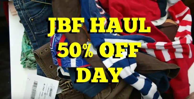 JBF Haul Spring 2016 half off