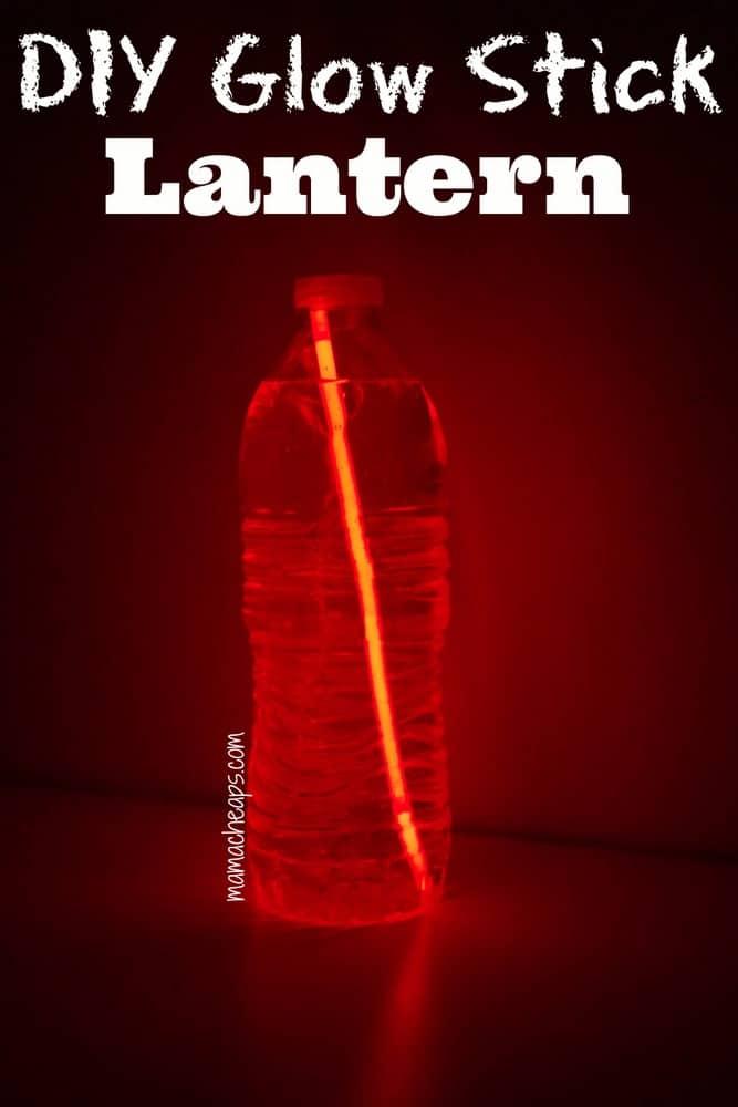 DIY Glow Stick Lantern