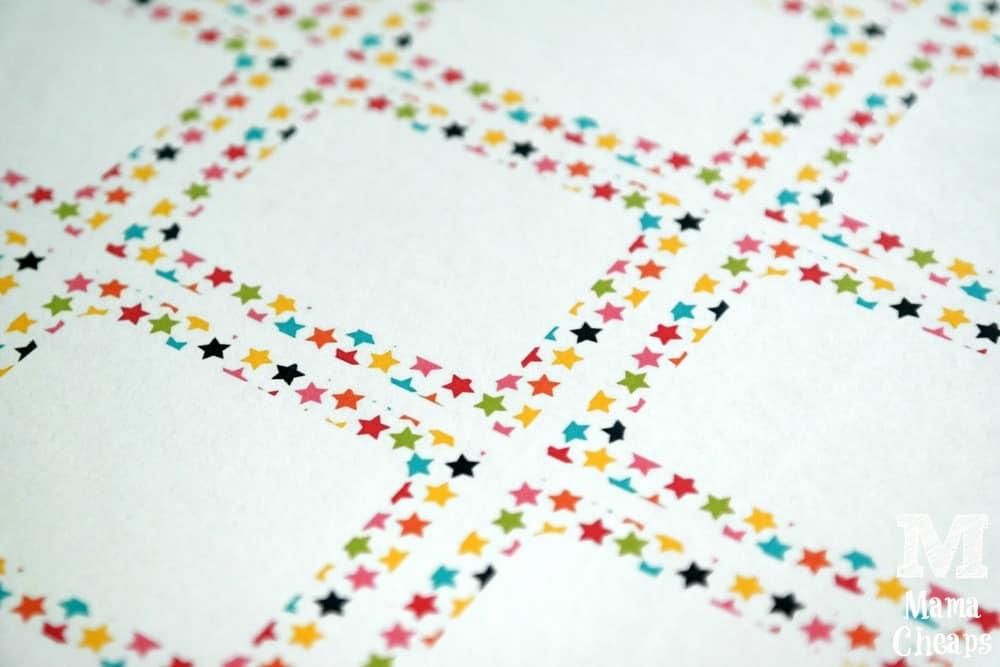 Star Confetti Cards
