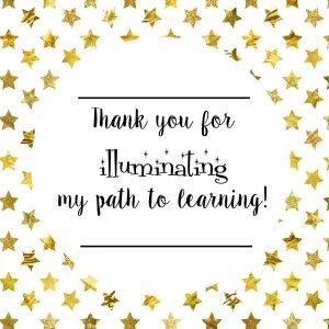 Teacher Illuminates Path to Learning