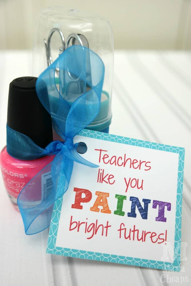 Teachers Like You Paint Bright Futures Nail Polish