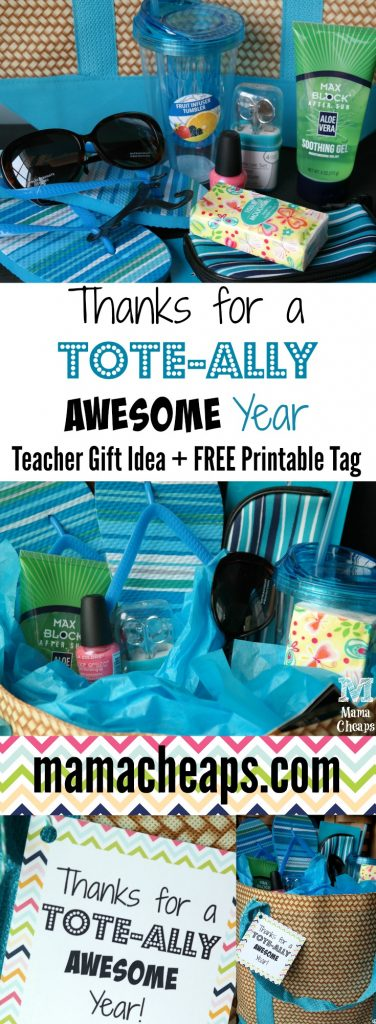 Thanks for a Tote-ally Awesome Year Gift Idea