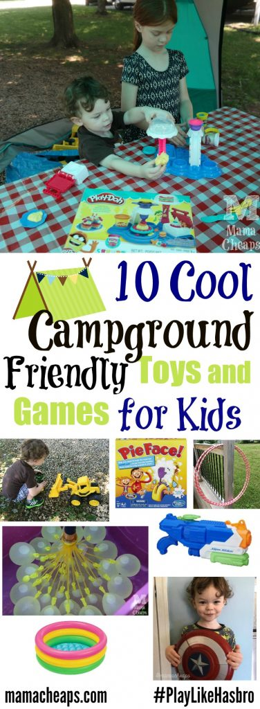 10 Cool Campground Friendly Toys and Games for Kids