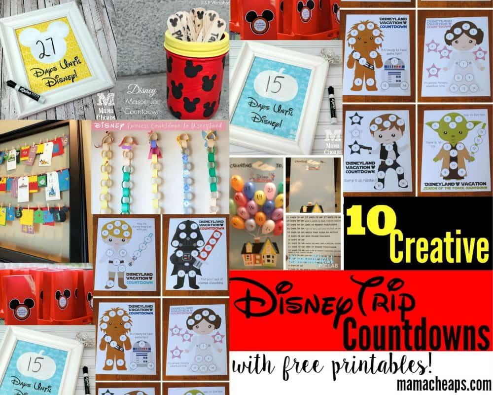 10 Creative Disney Trip Countdown Ideas