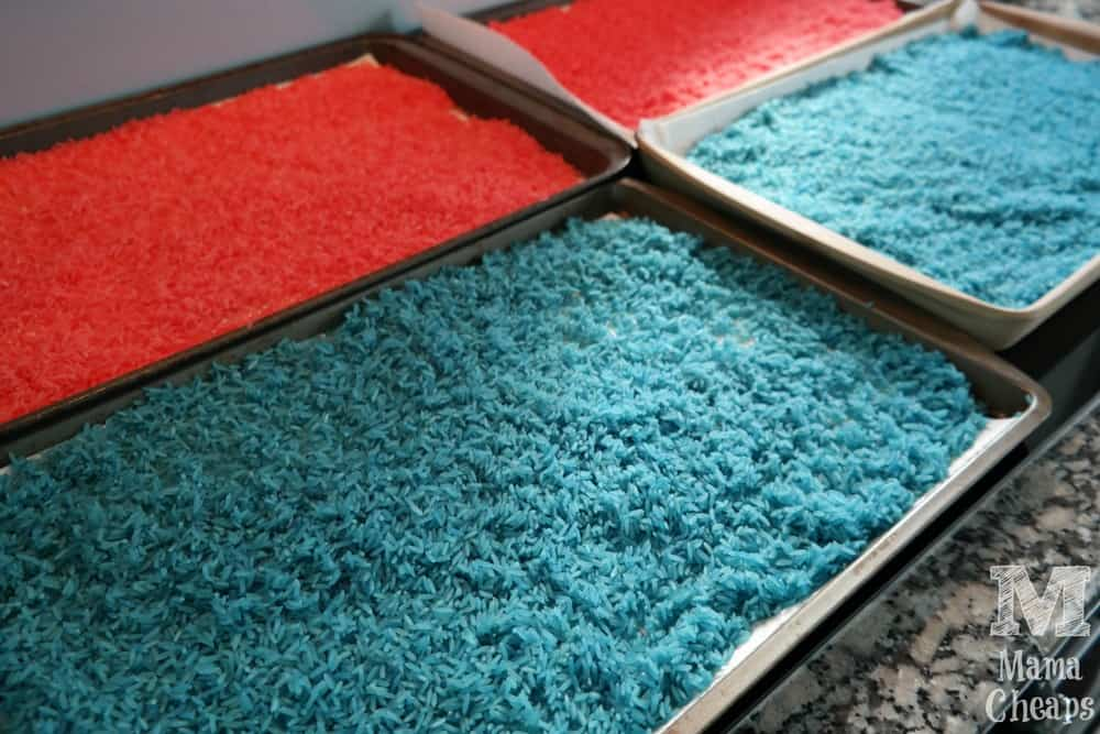Batch of Dyed Rice