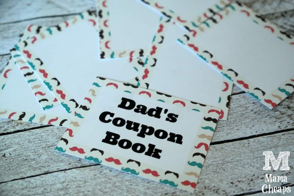 Coupon Book Blank Pages
