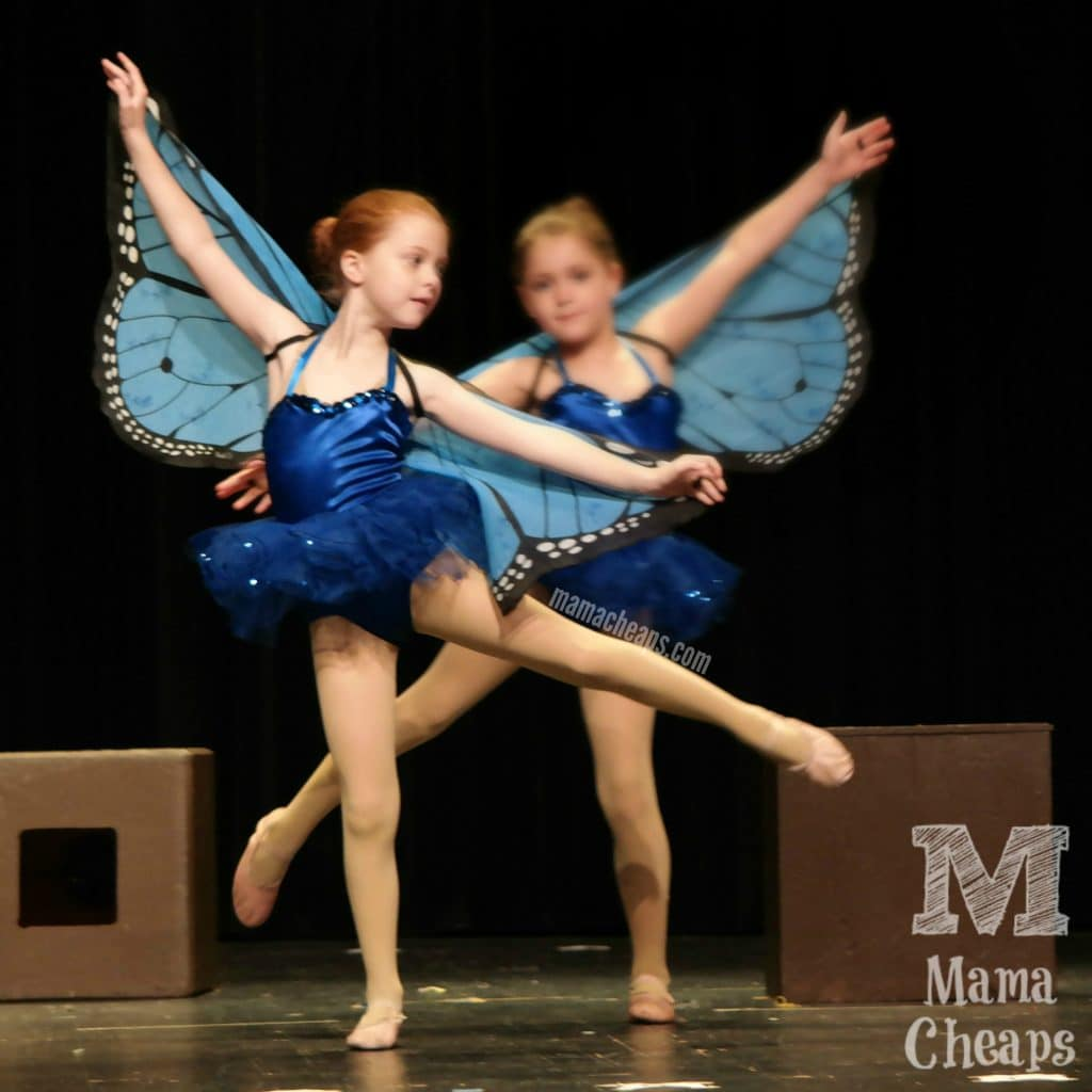 Dance Recital butterfly