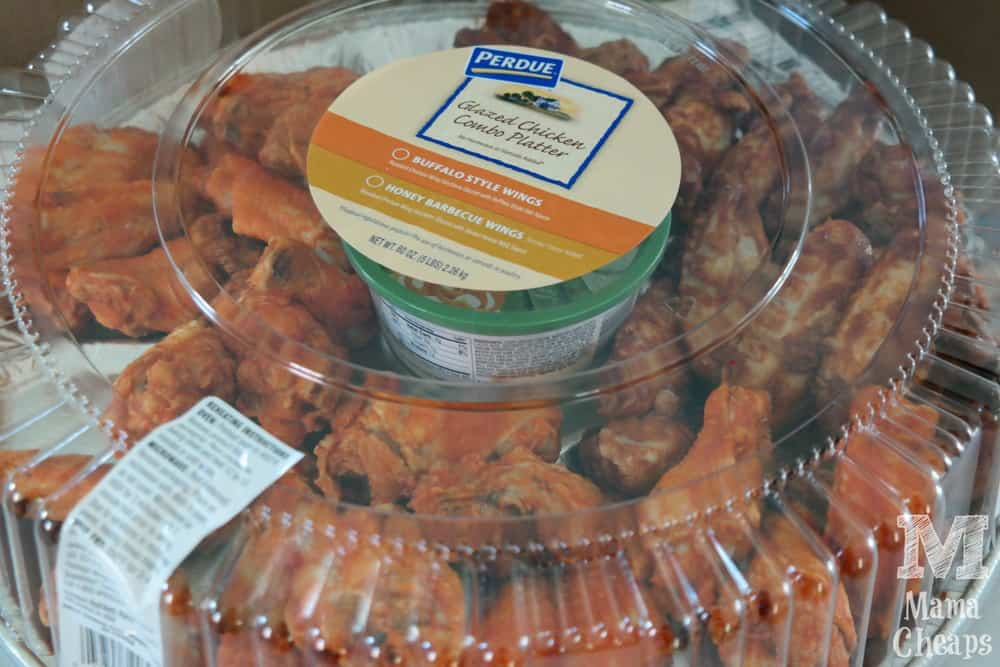 Perdue Chicken Wing Platter