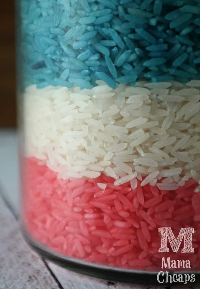 Red White Blue Rice