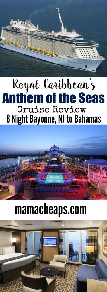 Royal Caribbean Anthem of the Seas Review