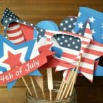 July 4th Photo Props