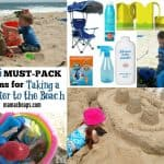 Toddler Beach Packing List