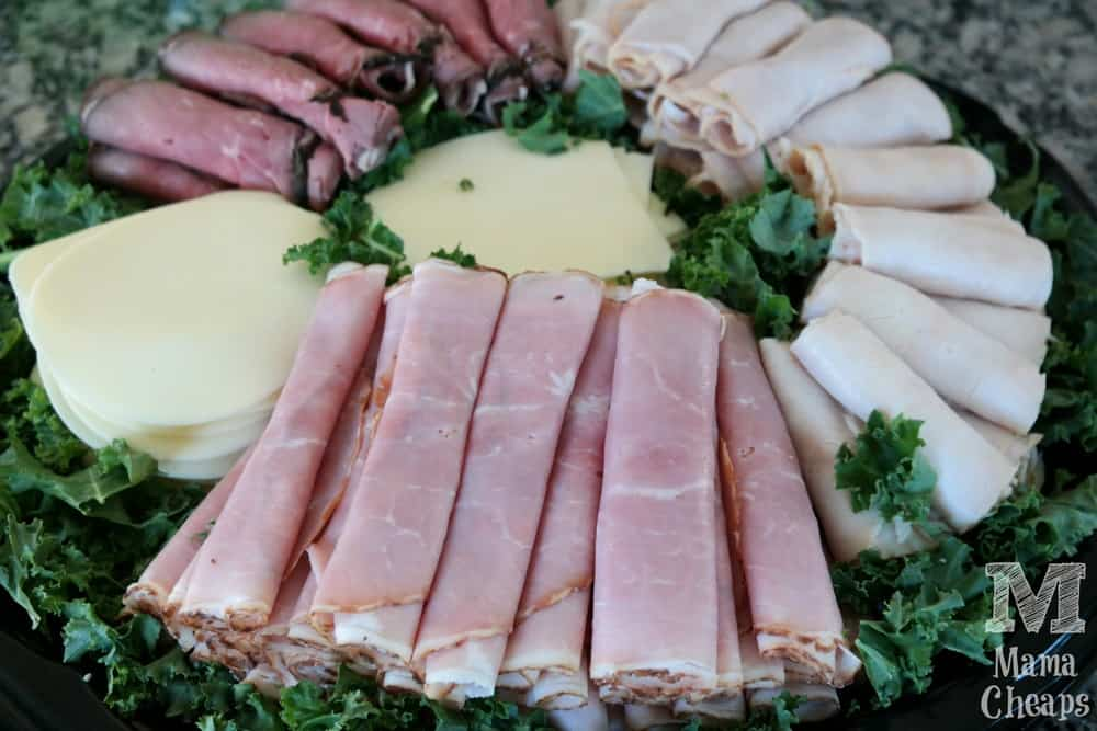 Wellsley Farms Deli Meat and Cheese Platter