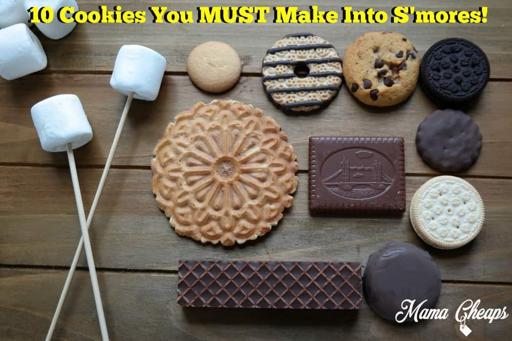 10 Cookies You Must Make Into Smores