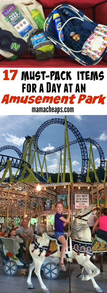 17 Must Pack Items for a Day at an Amusement Park