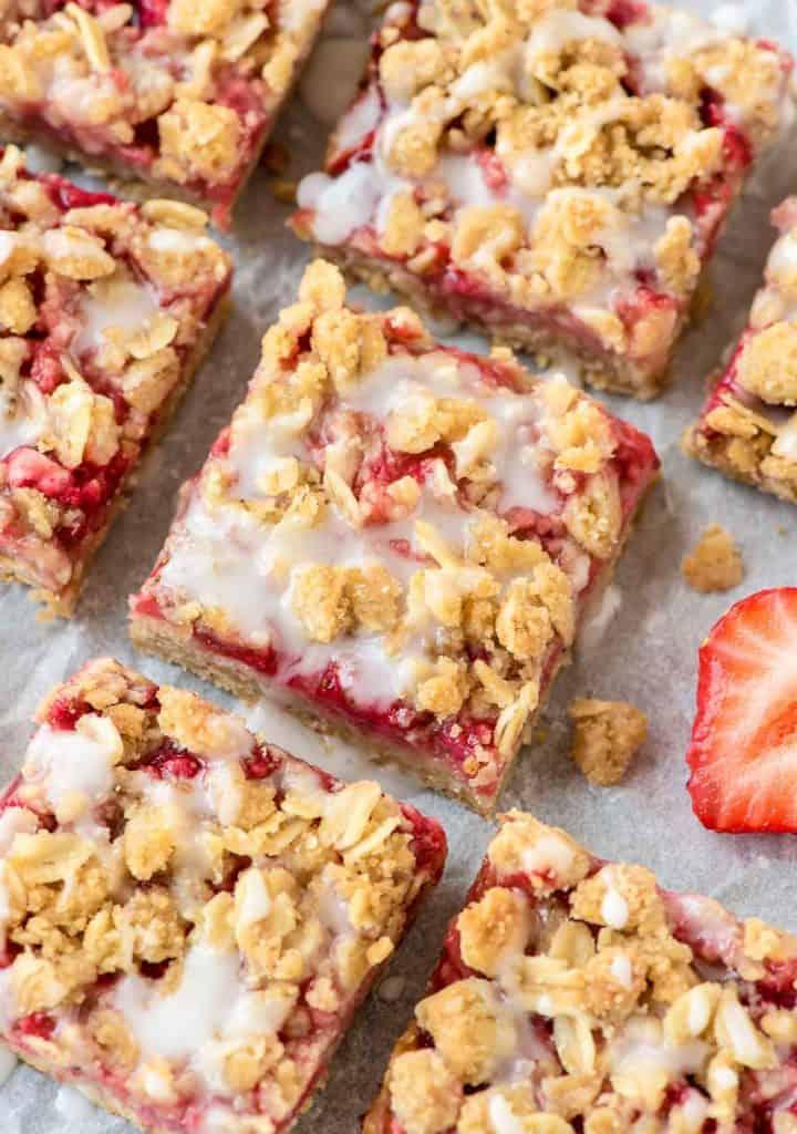 Easy-Strawberry-Oatmeal-Bars