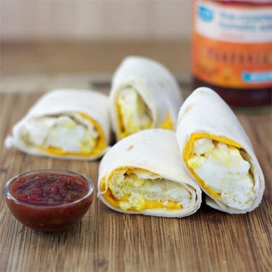 Egg Cheese Tortillas