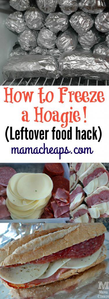 How to Freeze a Hoagie