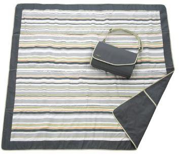 JJ Cole Outdoor Blanket,Gray Green, 5' x 5'