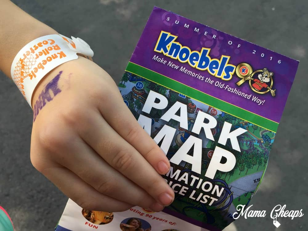 Knoebels Park Map