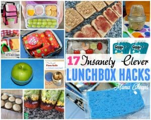 Lunchbox Hacks for Back to School