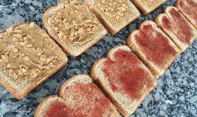 PBJ Sandwiches