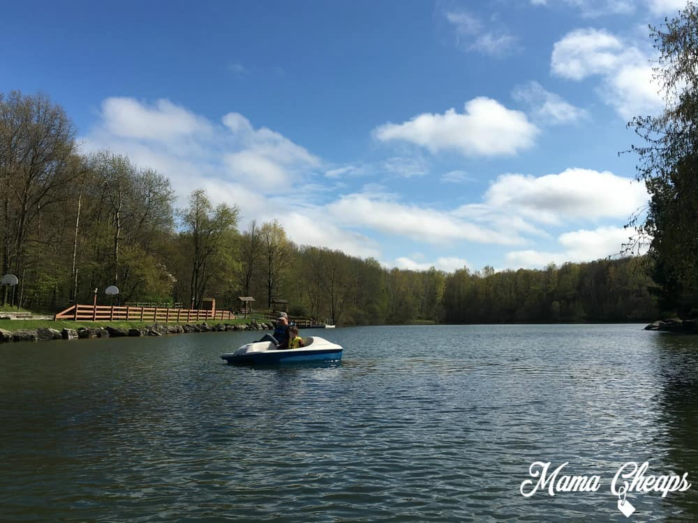Rocking Horse Ranch Paddle Boats on Lake