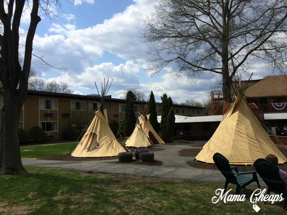 Rocking Horse Ranch teepees