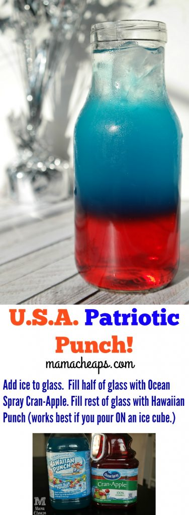 USA Patriotic Punch