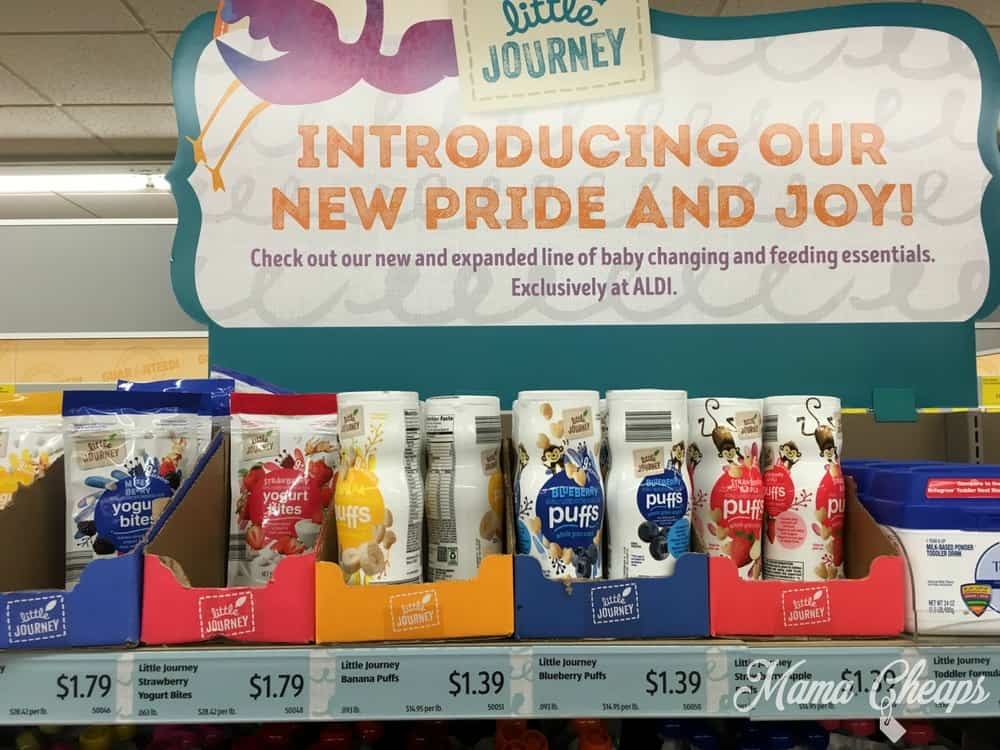 ALDI Introduces Little Journey Line of Baby Product | Mama Cheaps