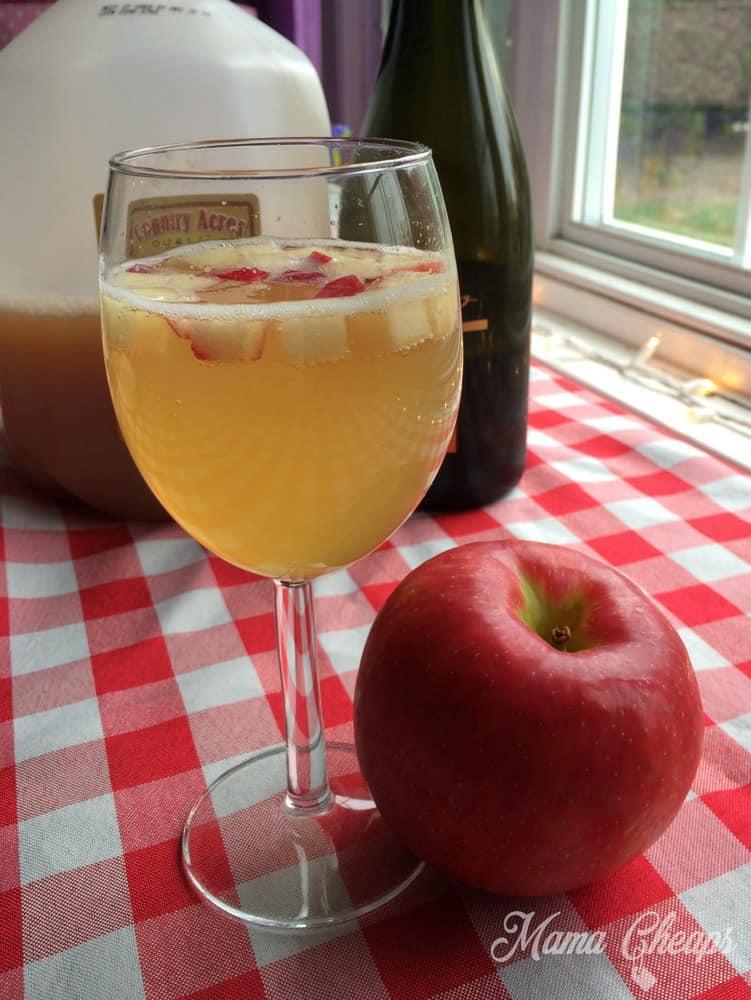Apple Cider and Prosecco