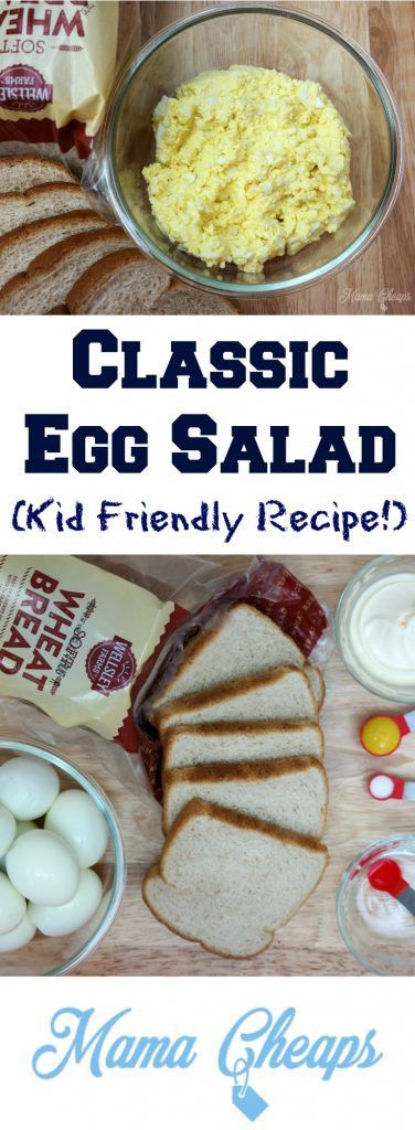 Egg Salad Recipe for Kids