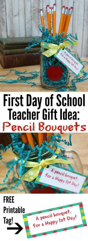 Pencil Bouquets Teacher Gift