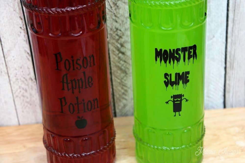Halloween Potion Bottles