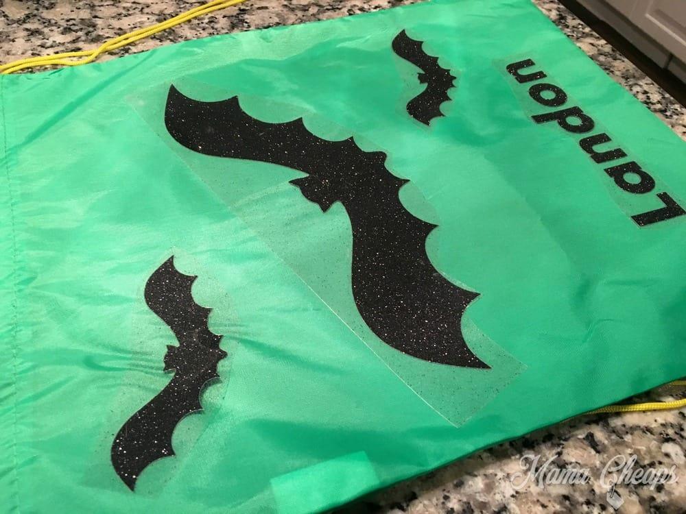making-halloween-treat-bag-bats