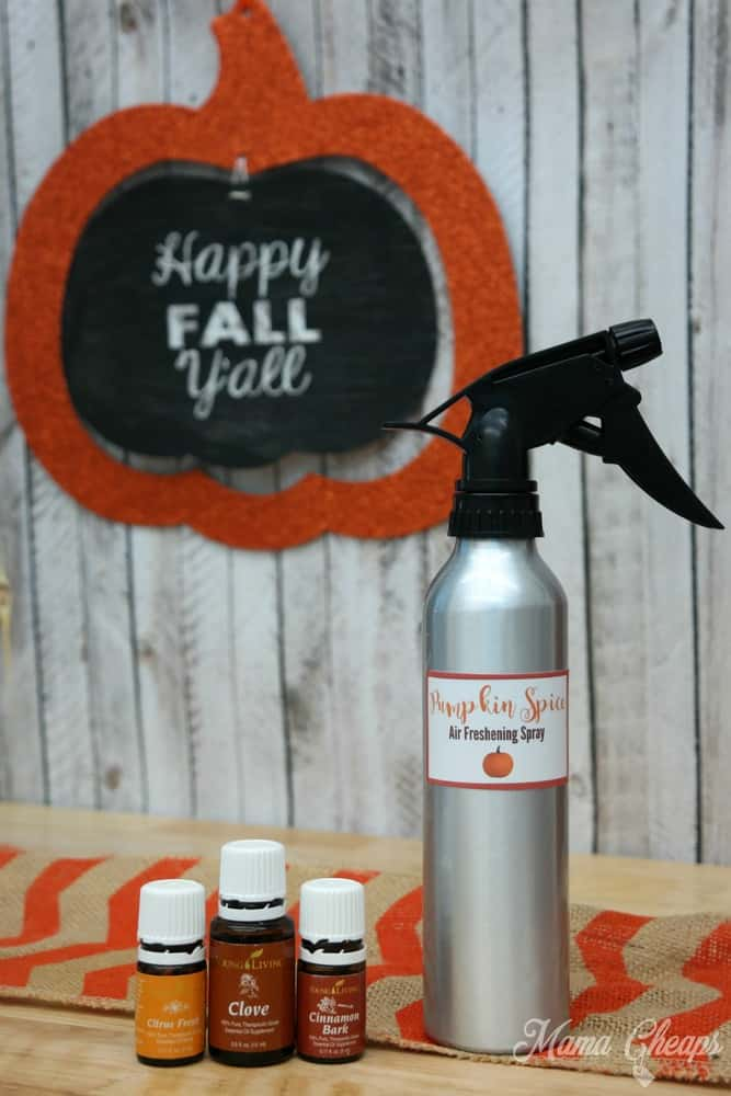 Pumpkin Spice Air Freshener Spray