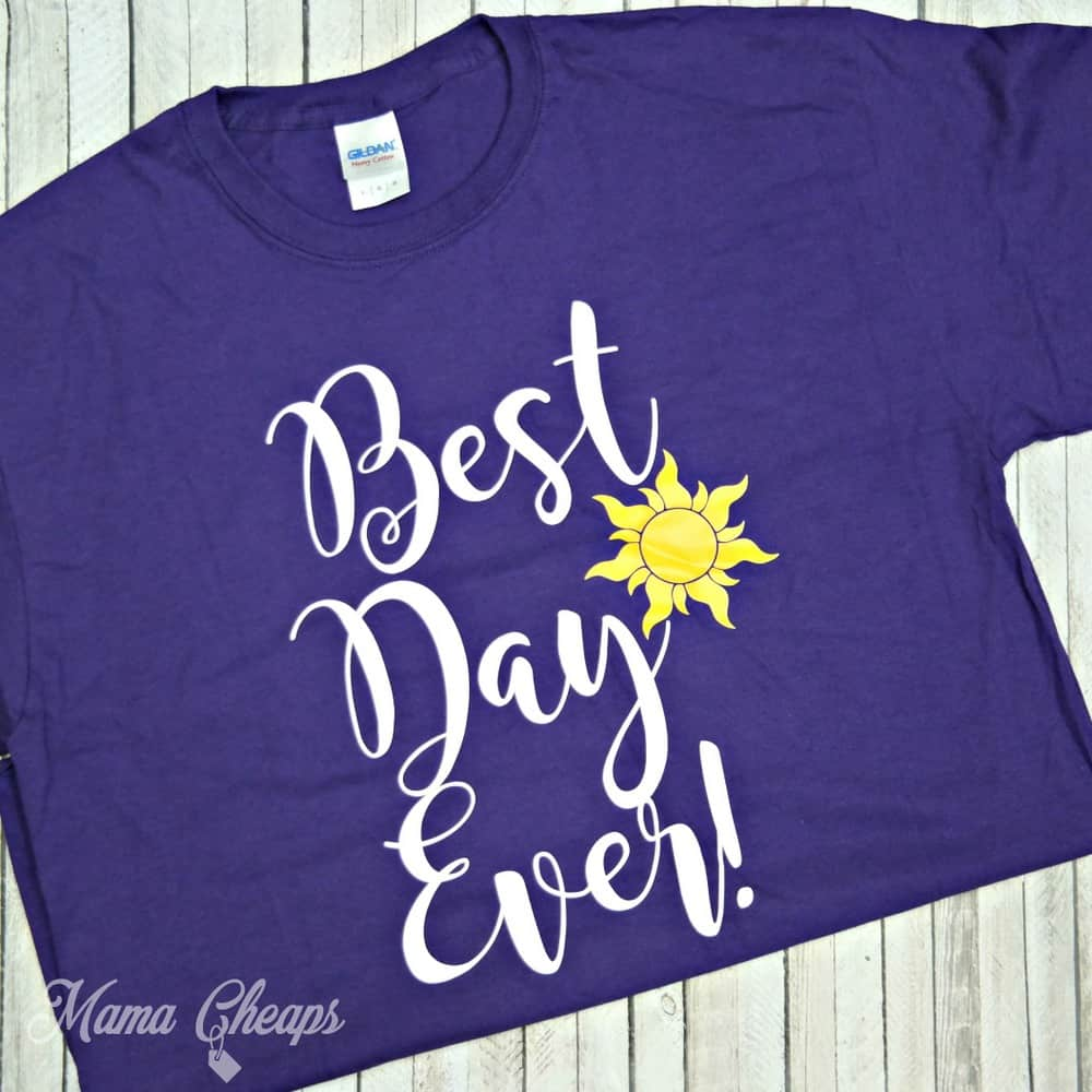 Rapunzel Best Day Ever Shirt Disney