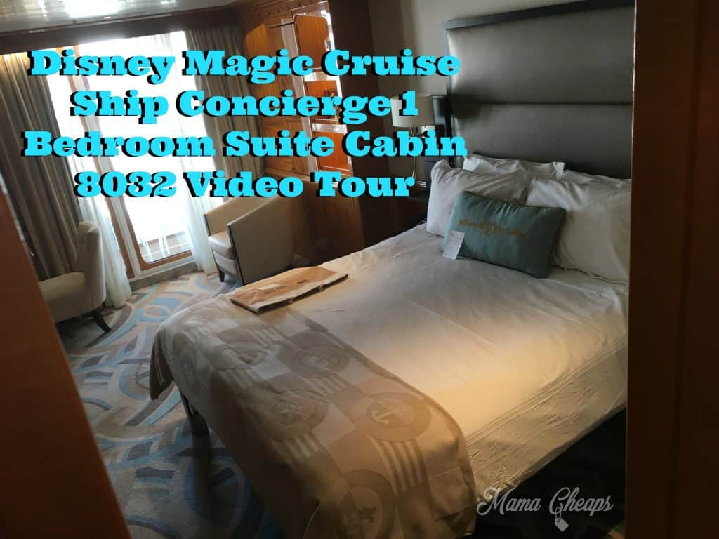 Disney Magic Cruise Ship Concierge 1 Bedroom Suite Cabin 8032 Video Tour