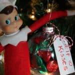 Elf on Shelf Hersheys Kisses Ornament