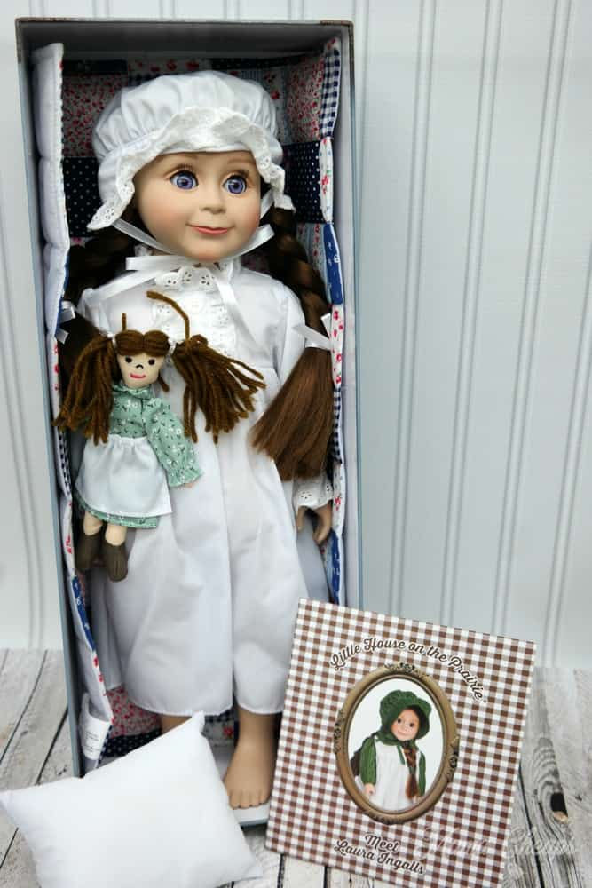 Laura Ingalls Prairie Doll The Queens Treasures