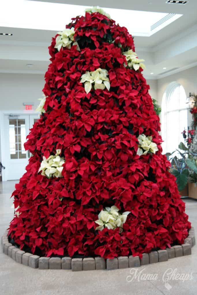 Poinsettia Christmas Tree