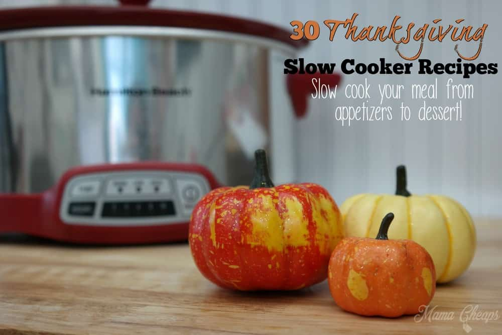 Thanksgiving Slow Cooker Recipes