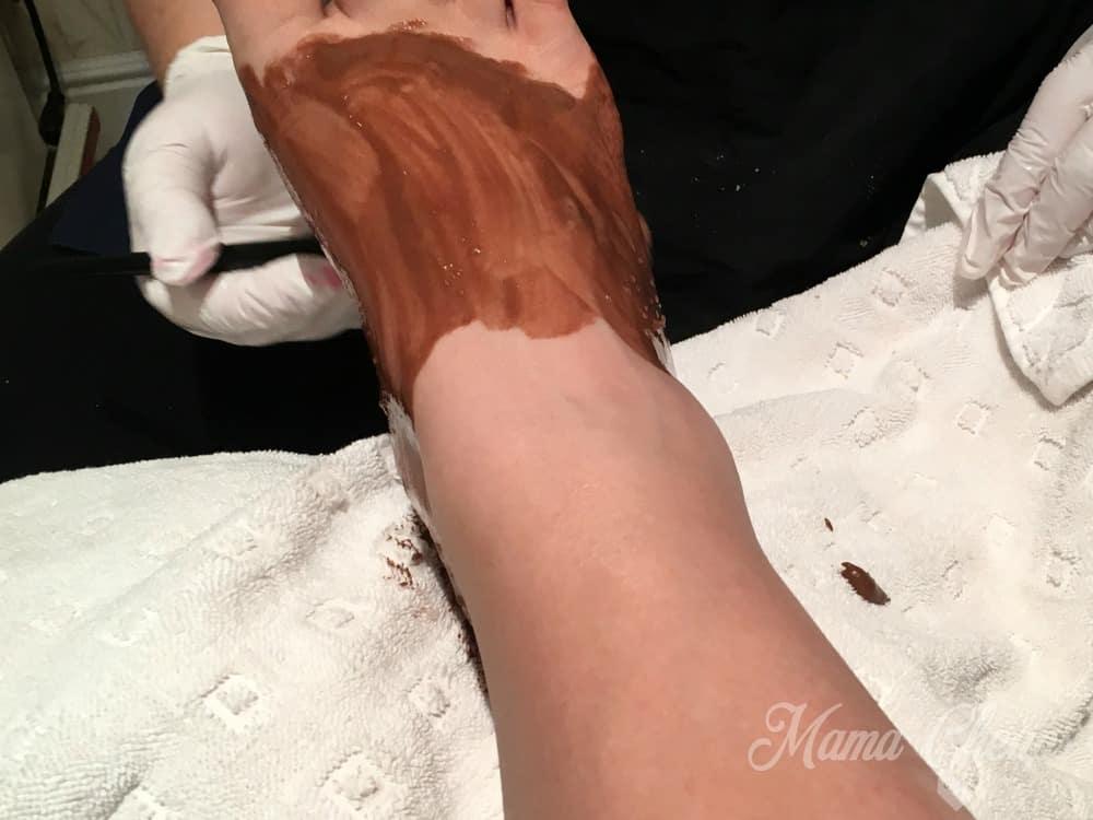 chocolate-pedicure
