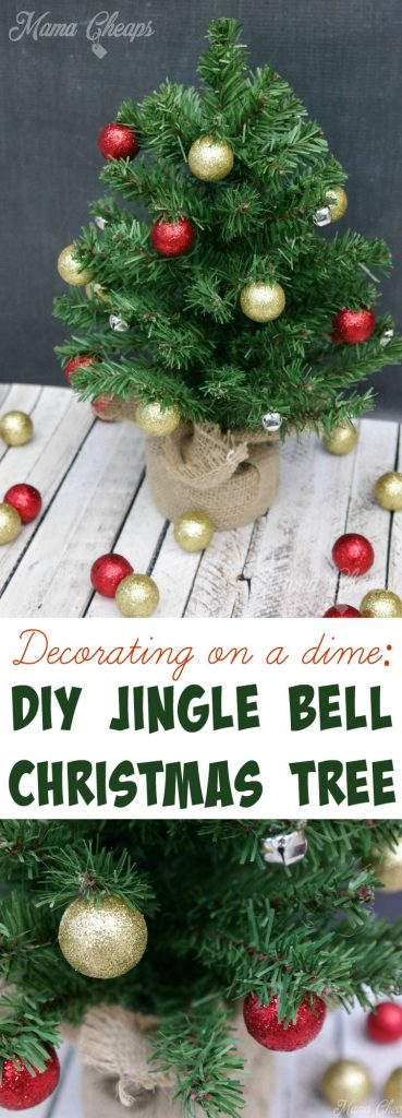 DIY Jingle Bell Christmas Tree