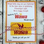 Free Printable Wawa Gift Card Holder