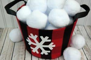 snowball bucket