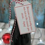 Our Kid is the Reason You Drink Wine Gift
