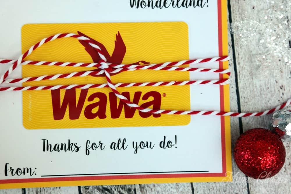 Wawa Gift Card Holder